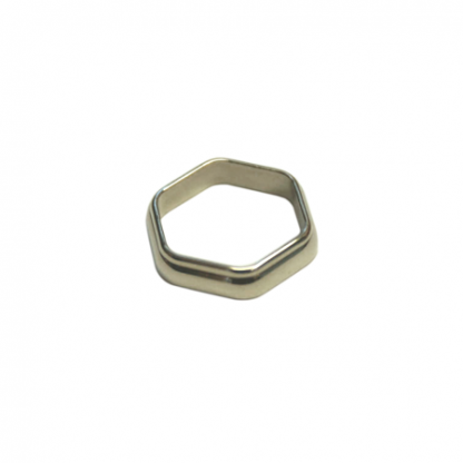 The ACW Hexagonal Winding Check, nickel silver